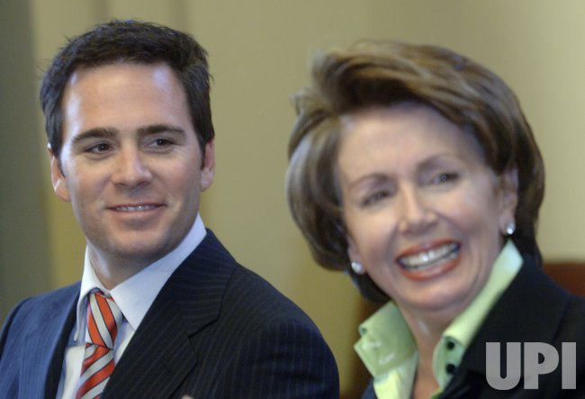 SPEAKER PELOSI MEETS WITH 2006 NASCAR NEXTEL CHAMPION JIMMIE JOHNSON