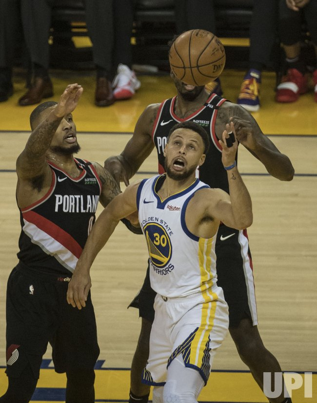 warriors-trail blazers - photo #14