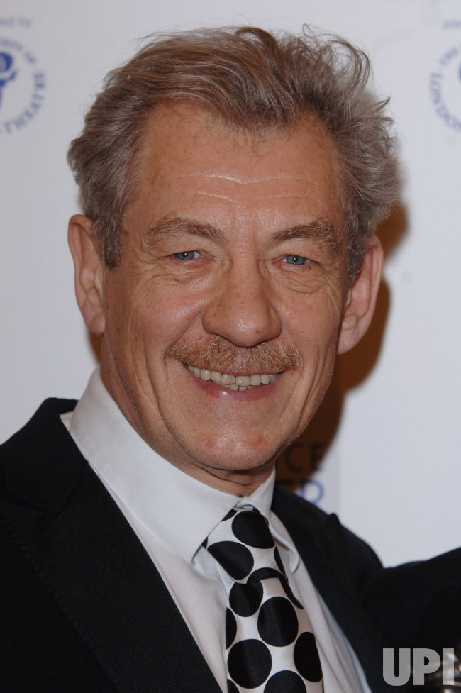 "ACTOR IAN MCKELLEN AT ""LAURENCE OLIVIER THEATRE AWARDS"""
