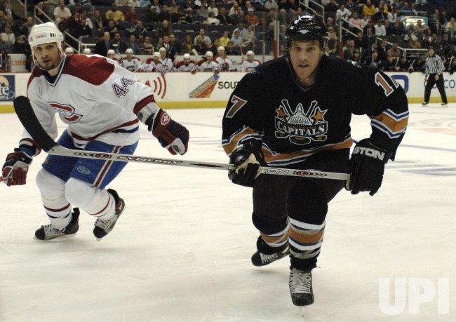 NHL: MONTREAL CANADIENS VS. WASHINGTON CAPITALS