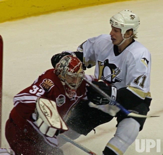 NHL PITTSBURGH PENGUINS AT PHOENIX COYOTES