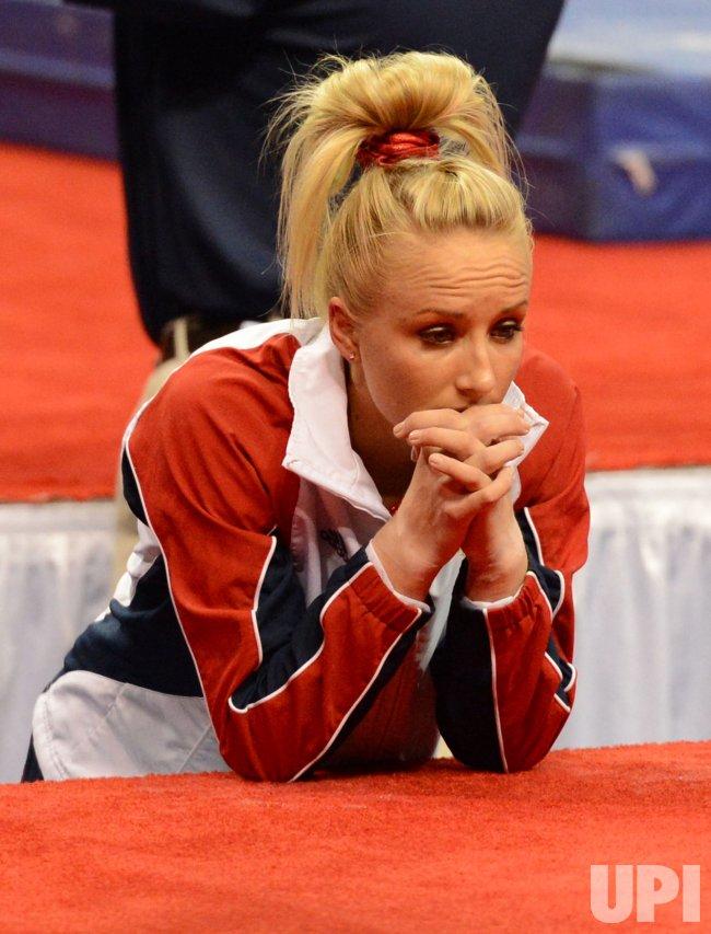Women's 2012 Olympic Trials in Gymnastics in San Jose, California