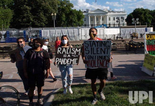 Black Lives Matter Protest near the White House