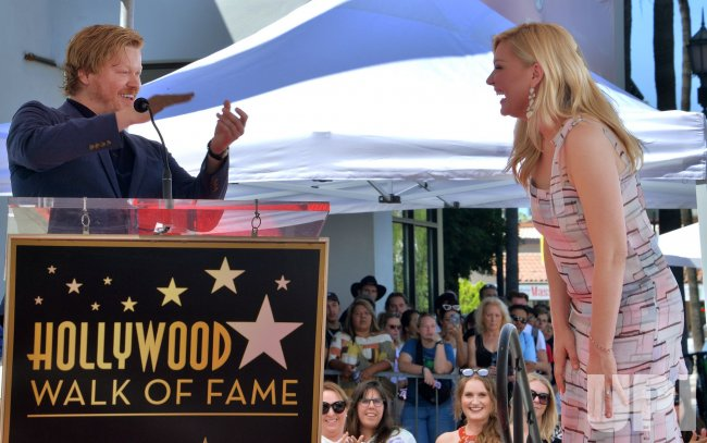 Image result for Actor Kirsten Dunst honored with a star on the Hollywood Walk of Fame in Los Angeles