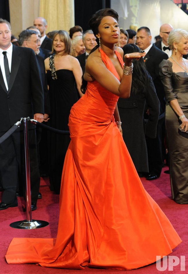Jennifer Hudson arrives at the 83rd annual Academy Awards in Hollywood