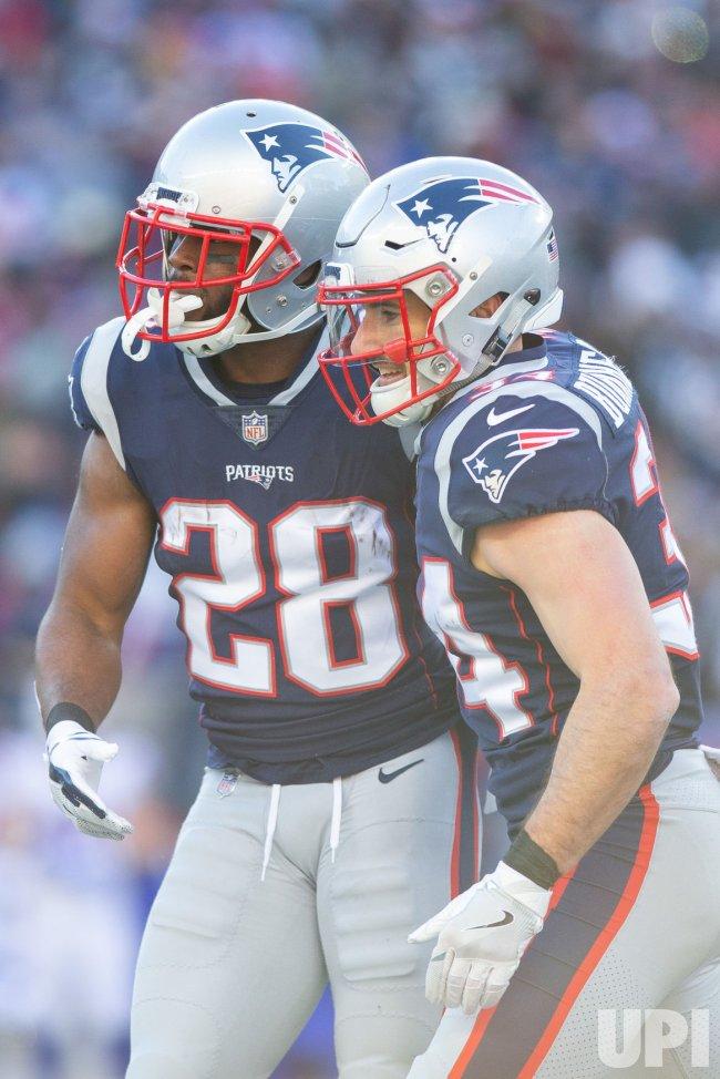 Bills Allen against Patriots