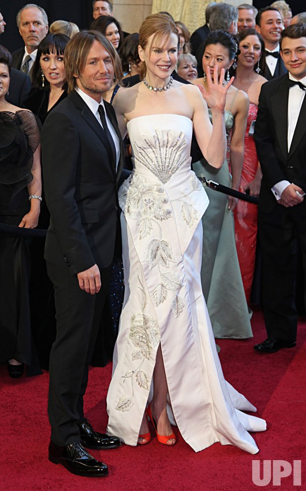 Nicole Kidman and Keith Urban arrive for the 83rd annual Academy Awards in Hollywood