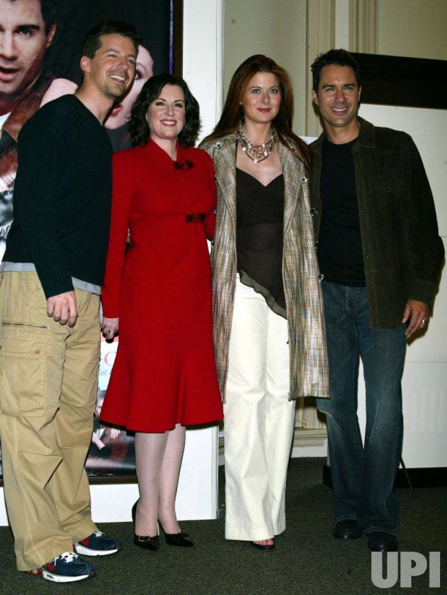 """WILL & GRACE"" CAST MEMBERS CD SIGNING"