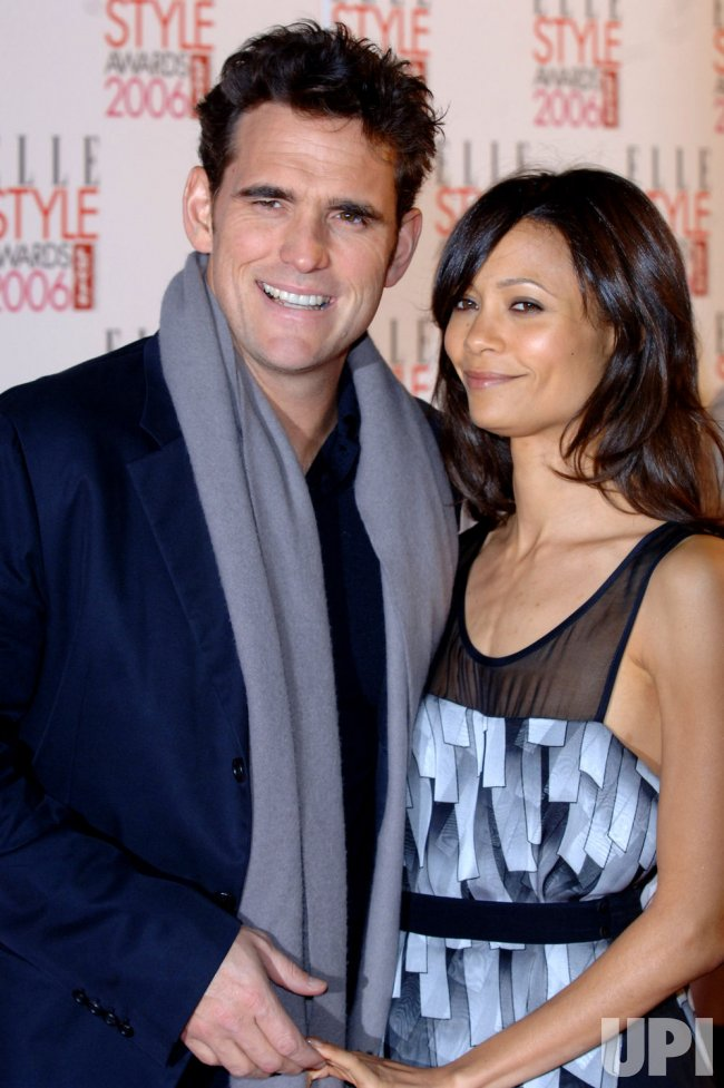 "ACTRESS THANDIE NEWTON AND ACTOR MATT DILLON AT ""ELLE STYLE AWARDS"""