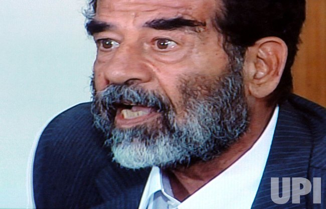 DEFIANT SADDAM HUSSEIN REJECTS ACCUSATIONS IN COUR