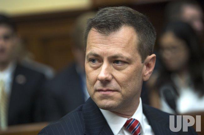 Peter Strzok, FBI Deputy Assistant Director, testifies on Capitol Hill