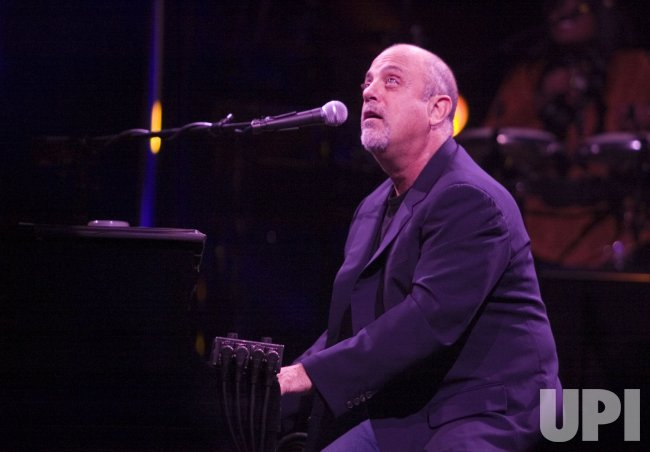 Billy Joel performs at Key Arena