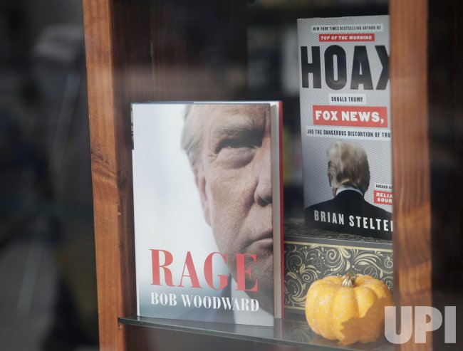 """Copies of """"Rage"""" by Bob Woodward on Sale in New York"""