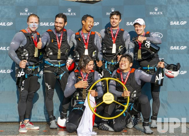 Japan SailGP Team wins New York SailGP
