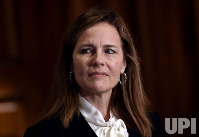 Supreme Court Nominee Judge Amy Coney Barrett Meets Senators