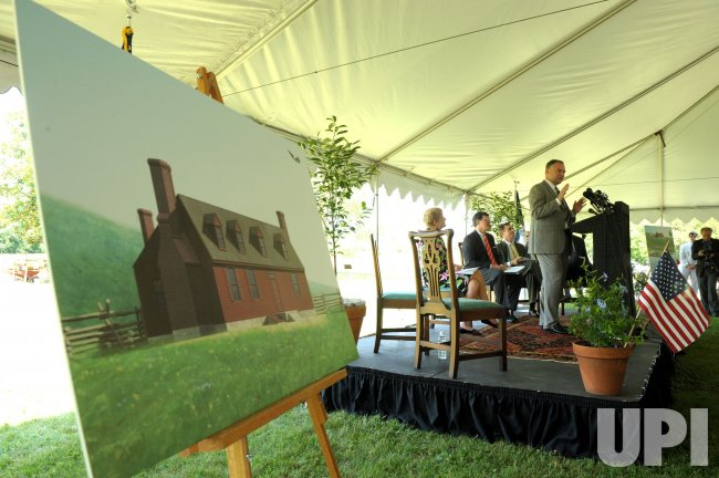 George Washington's childhood home excavated in Virginia