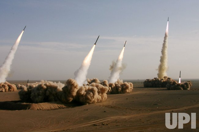 IRAN TEST FIRES SHAHAB-3 MISSILES