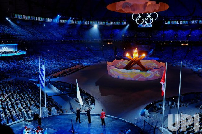 Closing Ceremony for 2010 Winter Olympics in Vancouver
