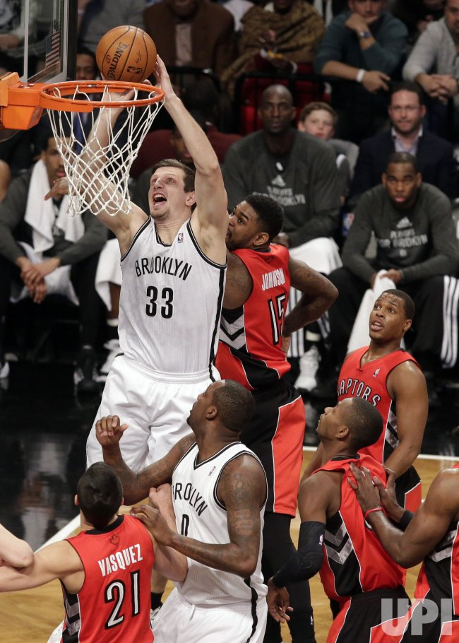 Toronto Raptors vs Brooklyn Nets in Game 4 of the Eastern Conference Quarterfinals