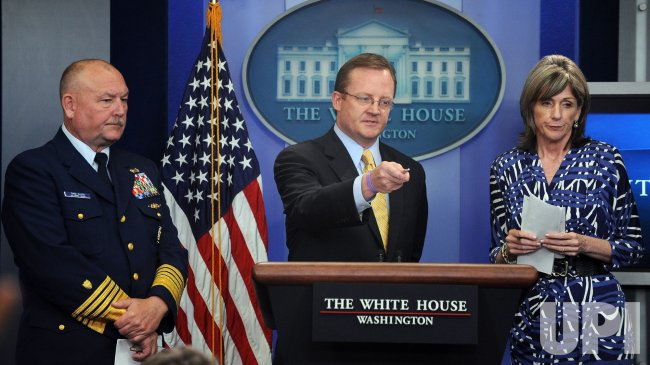 BP Oil Spill briefing at White House
