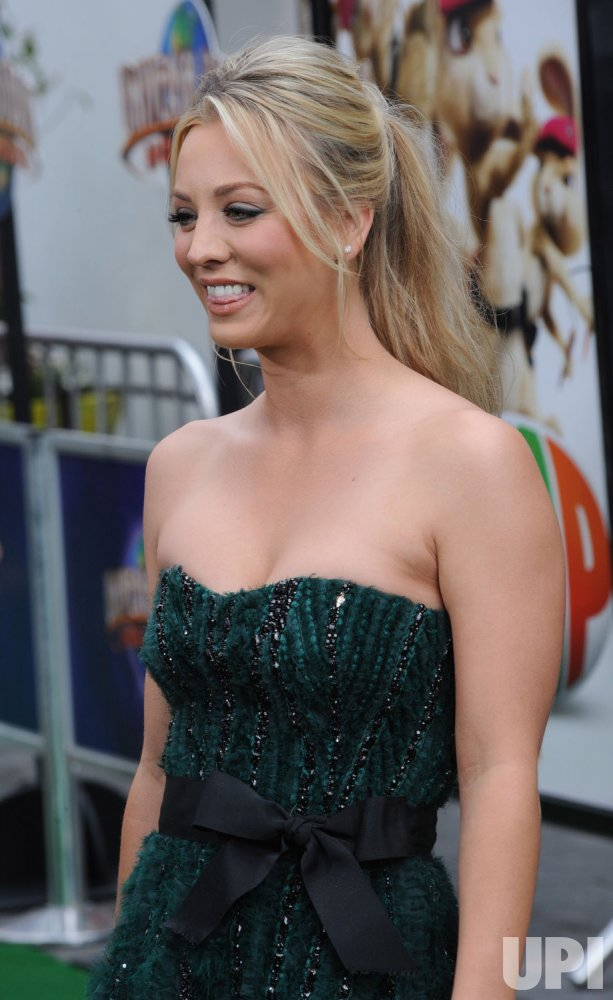 """Actress Kaley Cuoco attends the """"Hop"""" premiere in Los Angeles"""