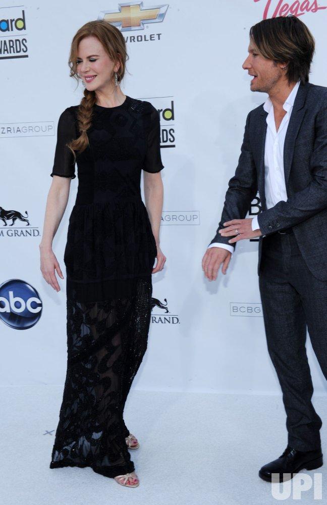 Nicole Kidman and Keith Urban arrive at the 2011 Billlboard Music Awards in Las Vegas