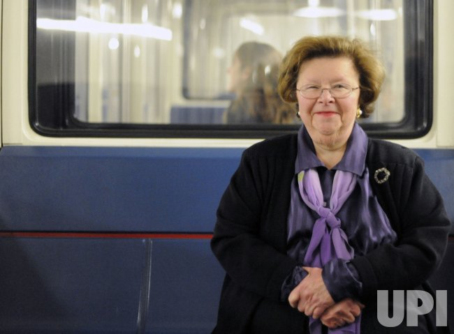 Sen. Mikulski on Capitol Hill in Washington