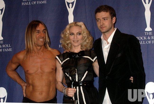 23rd Annual Rock and Roll Hall of Fame press room in New York