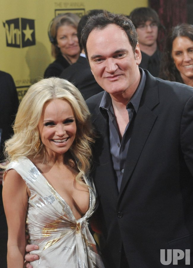 Quentin Tarantino and Kristin Chenoweth attend the 15th annual Critics' Choice Movie Awards in Los Angeles