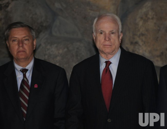 Senators McCain and Graham visit Jerusalem