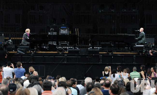 Elton John and Billy Joel perform in Washington