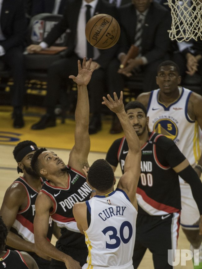 warriors vs trail blazers - photo #10