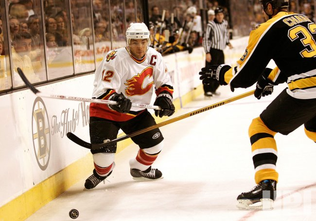 NHL BOSTON BRUINS VS. CALGARY FLAMES