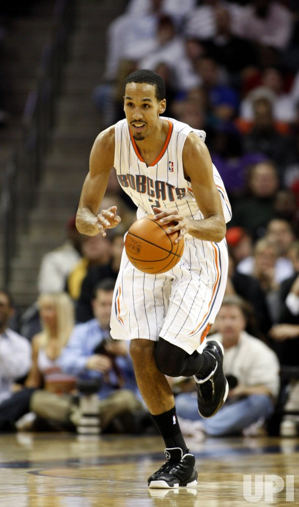 Charlotte Bobcats guard Shaun Livingston against the Miami Heat