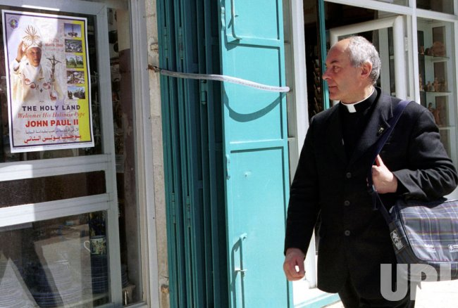 Bethlehem prepares for Pope John Paul II's visit