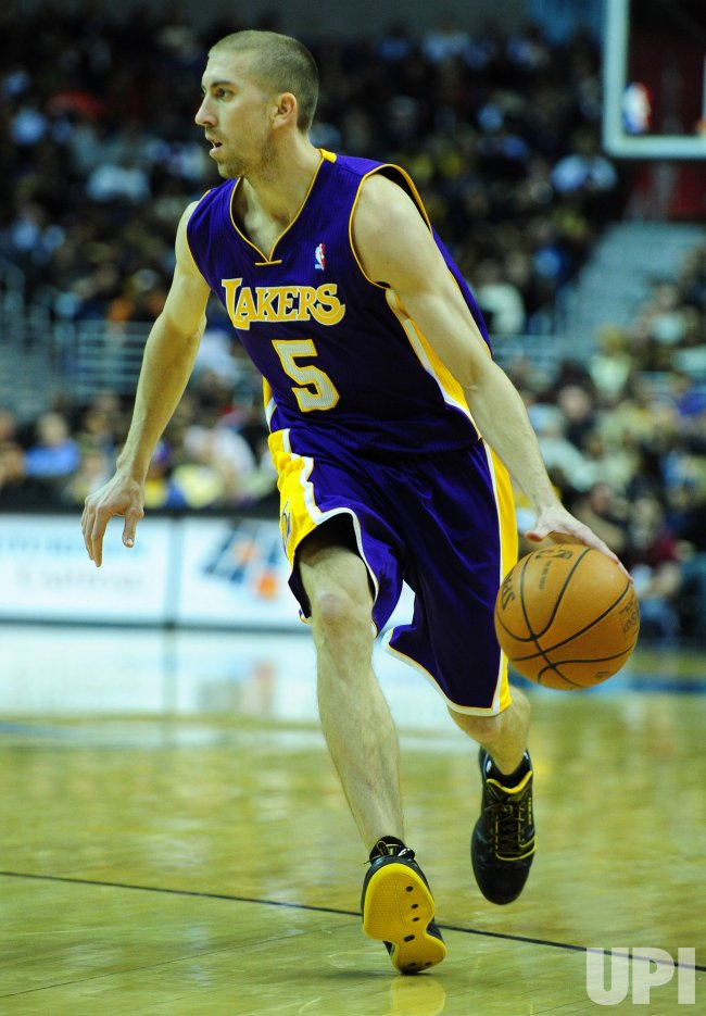 Los Angeles Lakers' Steve Blake in Washington