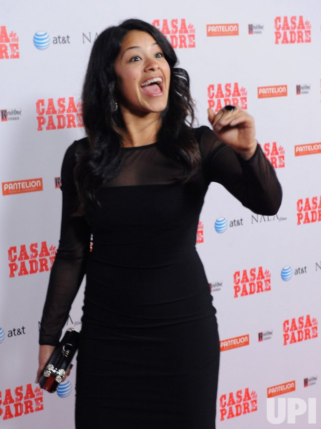 "Gina Rodriguez attends the ""Casa de mi Padre"" premiere in Los Angeles"