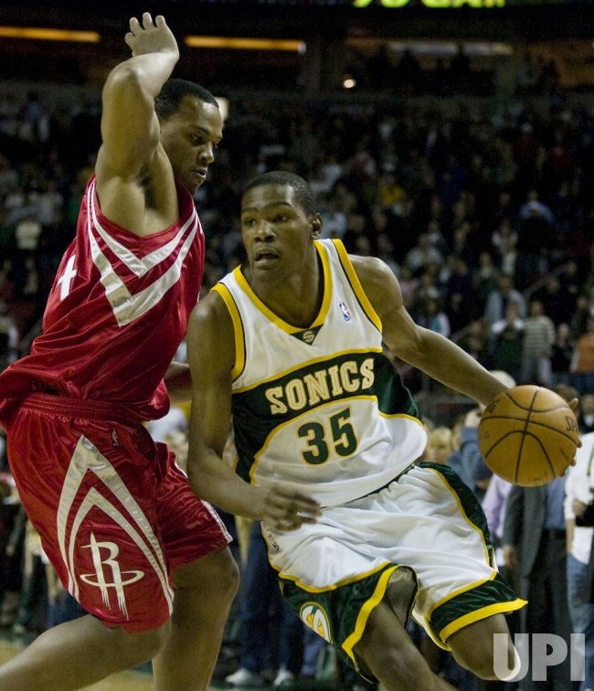 Houston Rockets vs Seattle SuperSonics