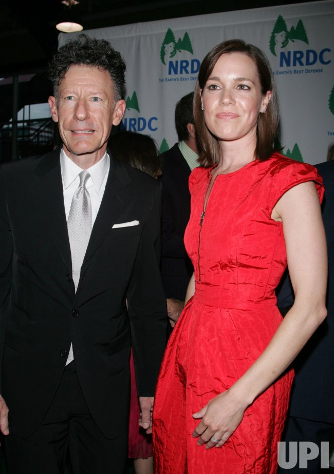 Lyle Lovett And Girlfriend April Arrive For The Natural