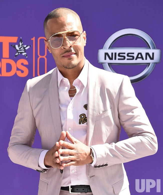 T.I. attends the 18th annual BET Awards in Los Angeles