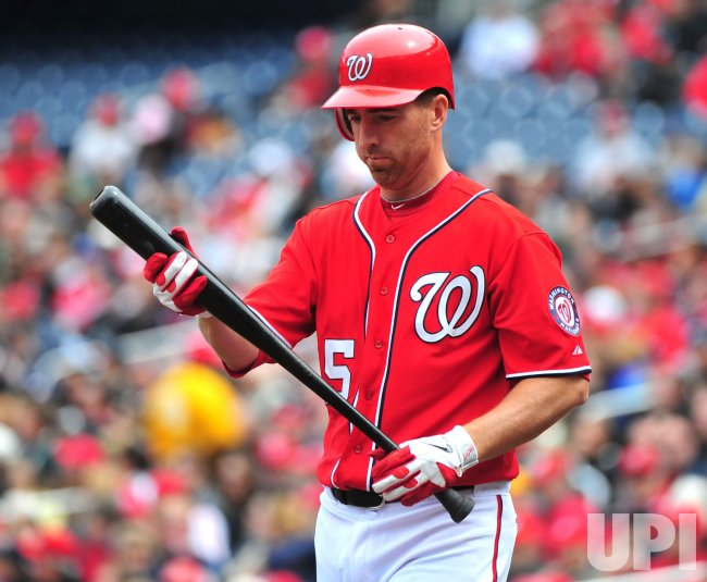 Washington Nationals' Adam LaRoche in Washington