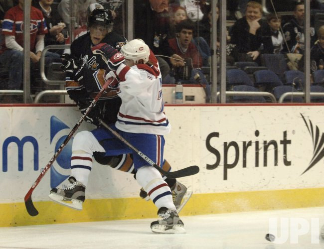 NHL: MONTREAL CANADIENS VS. WASHINGTON CAPITALS