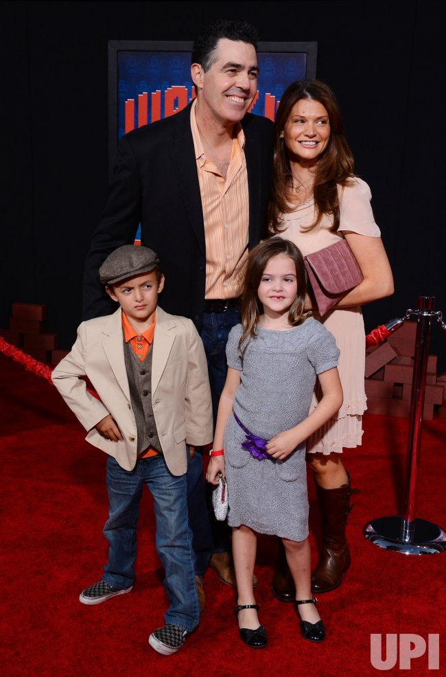 "Adam Carolla andfamily attend the ""Wreck-It Ralph"" premiere in Los Angeles"