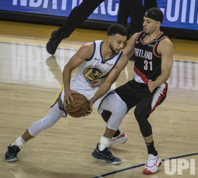 Golden State Warriors Vs. Portland Trail Blazers Game 1