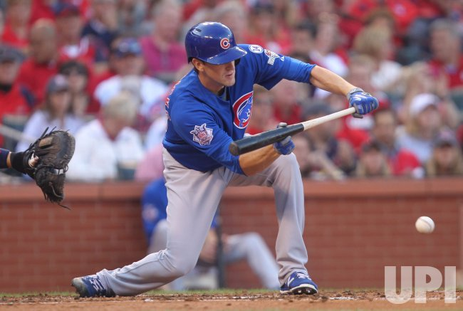 Cubs Kyle Hendricks gets RBI in Game 2 of the NLDS
