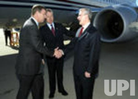 PRINCE ANDREW VISITS ST. LOUIS