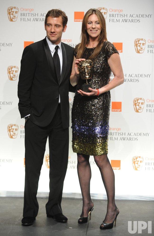 """Clive Owen and Kathryn Bigelow attend """"BAFTA"""" in London"""