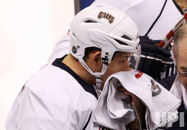 Edmonton Oilers Shawn Horcoff