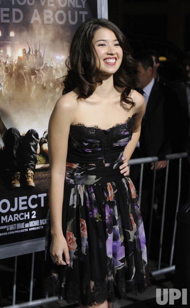 Nichole Bloom attends the premiere of the film Project X