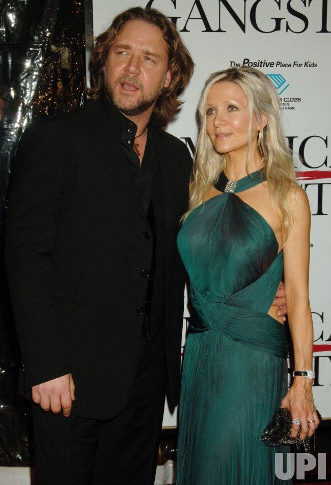 "Russell Crowe film premiere: ""American Gangster"" in New York"